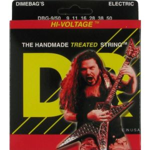 DR DBG-9/50 струны для электрогитар 9-50 Lite Dimebag Darrel Hi Voltage