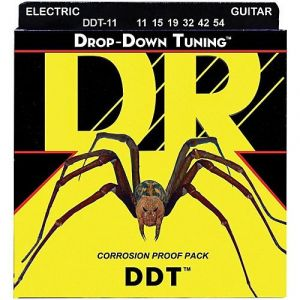 DR DDT-11 Drop-Down Tuning Electric 11-54 струны для электрогитары