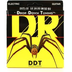 DR DDT-12 Drop-Down Tuning Electric 12-60 струны для электрогитары