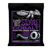 Ernie Ball 2731 струны для бас-гитары Cobalt Bass Power Slinky (55-75-90-110) обмотка кобальт