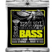 Ernie Ball 3832 струны для бас-гитары Coated Bass Regular Slinky (50-70-85-105)