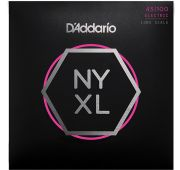 D'Addario NYXL45100 Комплект струн для бас-гитары, Long Scale, Regular Light, 45-100