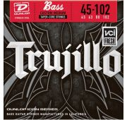 Dunlop RTT45102 Stainless Steel Robert Trujillo Icon Series Bass Guitar Strings - 45-102