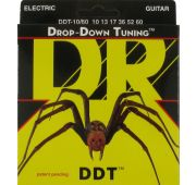 DR DDT-10/60 Drop Down Tuning Electric струны для электрогитары 10-60